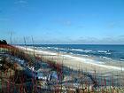 Plaża zim'